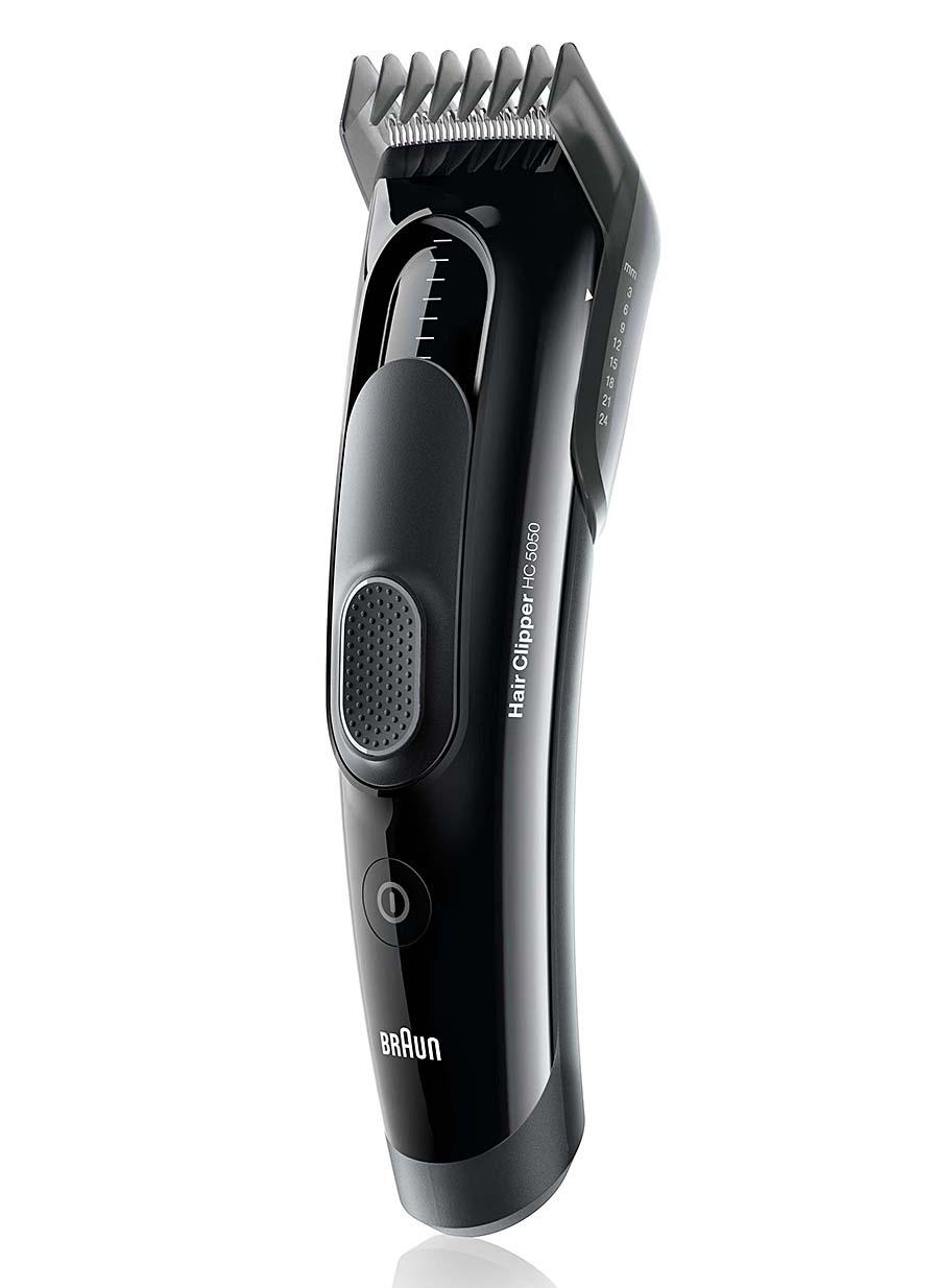 Erkek Braun Saç Kesme Makinesi HC5050 - Braun\'dan 17 uzunlukta saç kesme deneyiminde son nokta